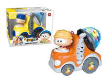 28781 - B/O bump&go car (with light and sound)