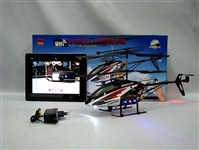 37124 - Wifi Controlled 3.5 CH Alloyed Helicopter with Camera