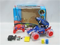 40095 - R/C 7 Function shooting disk car with light N music