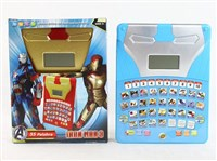 49651 - Iron Man English and Spanish bilingual learning machine